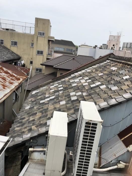 岸和田市 屋根の葺き替え・モルタル壁の張替え工事